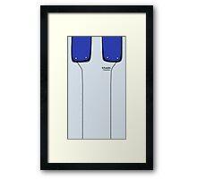 Jill Valentine Uniform Framed Print