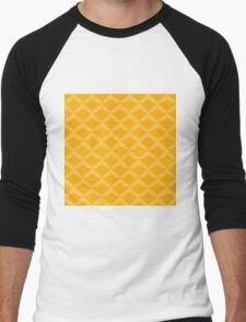 Ananasmuster Men's Baseball ¾ T-Shirt