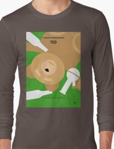 No519 My TED minimal movie poster Long Sleeve T-Shirt