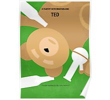 No519 My TED minimal movie poster Poster