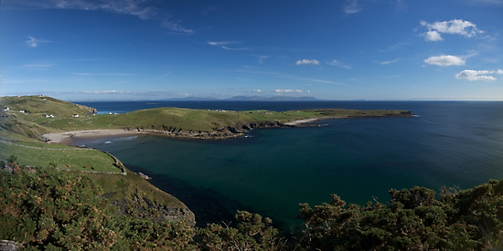 Muckross Head, Donegal, Ireland by George Row