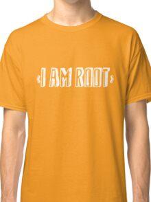 Computer qutoe: I am root Classic T-Shirt