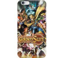 Golden Sun iPhone Case/Skin