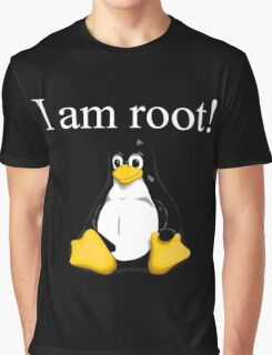 Linux quote: tux is root Graphic T-Shirt