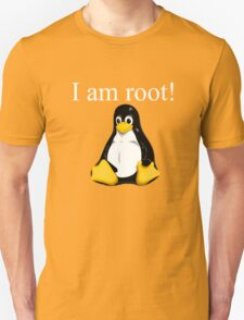 Linux quote: tux is root Unisex T-Shirt