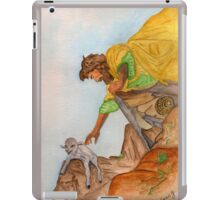 Jesus Rescues the Lost Sheep iPad Case/Skin