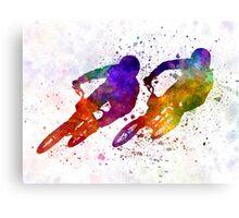 BMX Race Canvas Print