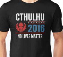 Cthulhu 2016 no lives matter Unisex T-Shirt