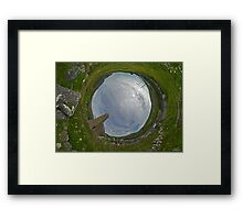 Glencolmcille Church - Sky In Framed Print