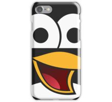 Angry tux iPhone Case/Skin