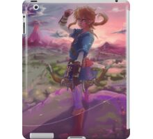 Breath of wild Link iPad Case/Skin
