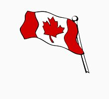 Waving Canadian Flag Unisex T-Shirt