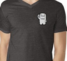 Domo Character  Mens V-Neck T-Shirt