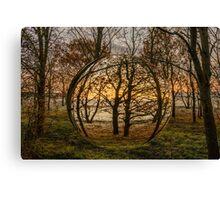 Woodland Orb Canvas Print