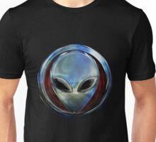 Metal Alien Head 03 Unisex T-Shirt