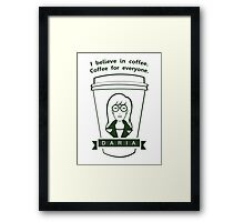 Coffee For Everyone. Framed Print