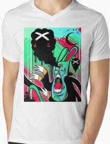 Bonkers Mens V-Neck T-Shirt
