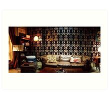 221B Living Room Art Print