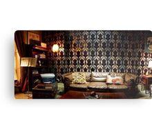 221B Living Room Metal Print