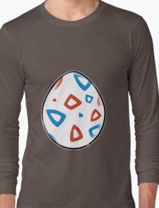 Togepi Egg Design Long Sleeve T-Shirt