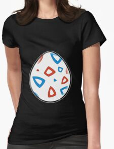 Togepi Egg Design Womens Fitted T-Shirt