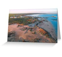 broome port areal  Greeting Card