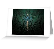 Embrace The Night Greeting Card