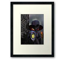 Evil Aliens Framed Print