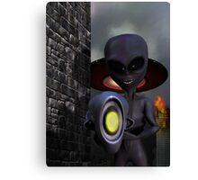 Evil Aliens Canvas Print