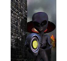 Evil Aliens Photographic Print