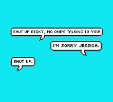 Shut Up Becky from Danisnotonfire by crazyllamowl