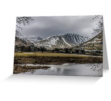 Hartsop Valley  Greeting Card