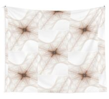 A Web of Lines Wall Tapestry