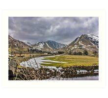 Hartsop Valley Views Art Print