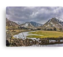 Hartsop Valley Views Canvas Print
