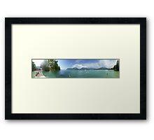 Lake Annecy Framed Print