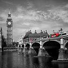 Westminster Bridge and Big Ben by Lynn Bolt