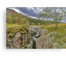 The River Duddon Lake District Canvas Print