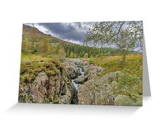 The River Duddon Lake District Greeting Card