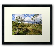 The Duddon Valley Framed Print