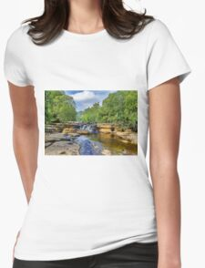 The Force at Keld Womens Fitted T-Shirt