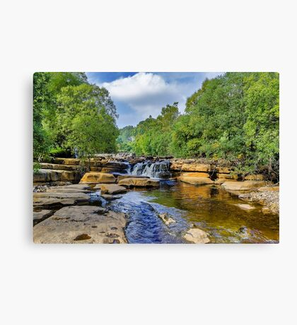 The Force at Keld Canvas Print
