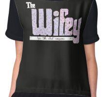 The Wifey : Pastel Goth Chiffon Top