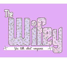 The Wifey : Pastel Goth Photographic Print