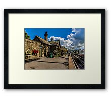 The Station Platform Framed Print