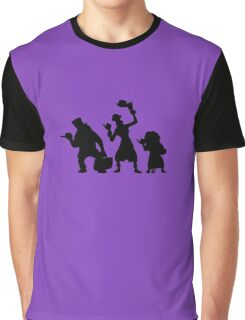 Haunted Mansion Hitchhiking Ghosts Graphic T-Shirt