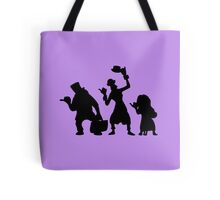 Haunted Mansion Hitchhiking Ghosts Tote Bag