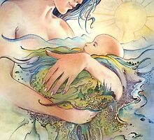 GAIA - Mather and Child by Anna Miarczynska