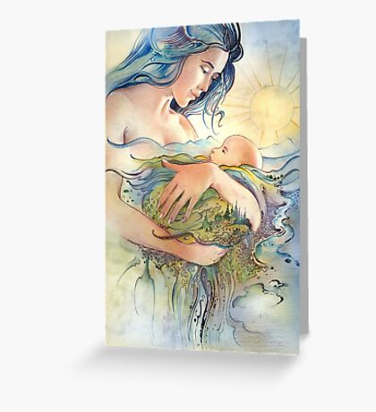GAIA - Mather and Child Greeting Card