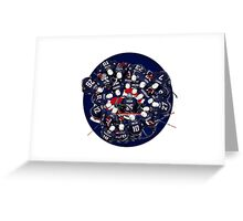 hockey team USA Greeting Card
